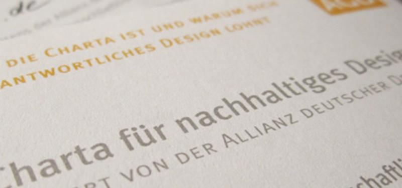 racoon | Charta für nachhaltiges Design