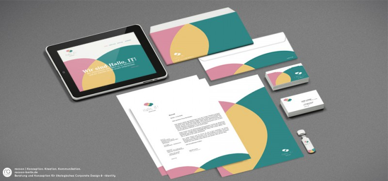 racoon entwickelt nachhaltig und ökologische Geschäftsausstattung für IT Start-Up