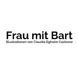 Logo | Frau mit Bart