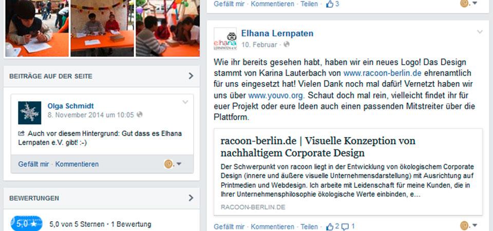 racoon entwickelt neues Vereinslogo, Erscheinungsbild für bessere Außenwirkung, PR, Öffentlichkeitsarbeit, nachhaltige Geschäftunterlagen