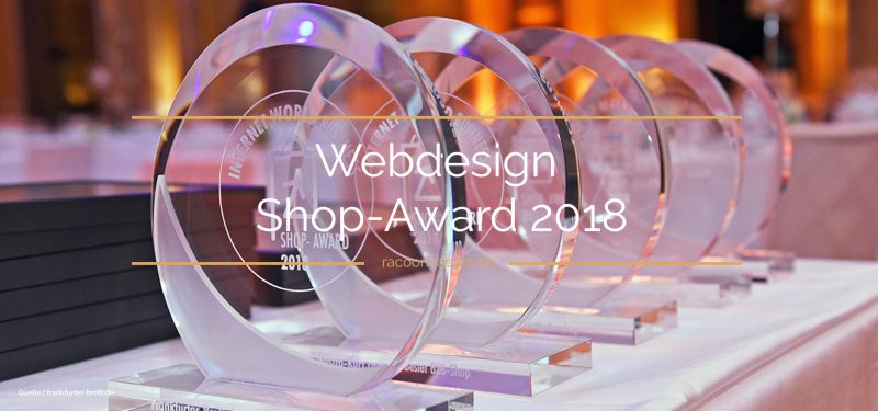 Webdesign Shop-Award