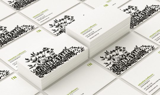 frohNatur / Garten- und Landschaftsbau Berlin | Überarbeitung, Entwurf und Realisierung des neuen Corporate Design durch racoon-berlin.de